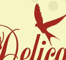 Here Birdie Laundry Label: Delicates Sticker