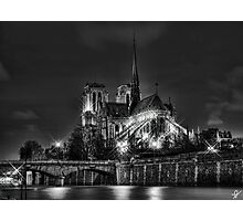 Notre Dame de Paris (HDR) Photographic Print