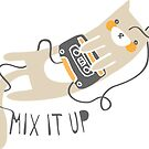 """Mix It Up"" Sticker by thekitschycat"