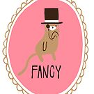 Fancy Cat Sticker by thekitschycat
