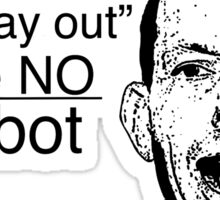 Abbot: Abortion is the Easy Way Out Sticker