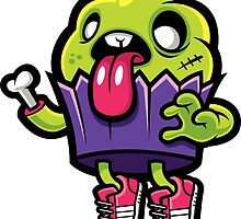 Zombie Cupcake by cronobreaker