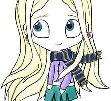 Luna Lovegood Chibi by Kristina Moy