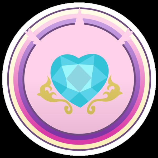 Subtle Brony - Princess Cadence Cutie Circle by nimaru