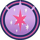 Subtle Brony - Princess Twilight Cutie Circle by nimaru
