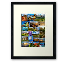The colours of Ireland Framed Print