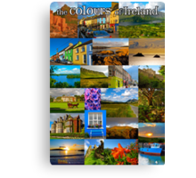 The colours of Ireland Canvas Print