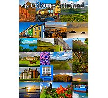 The colours of Ireland Photographic Print