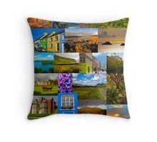 The colours of Ireland Throw Pillow