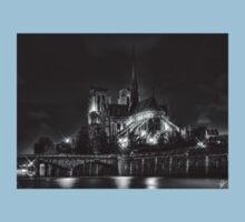 Notre Dame de Paris (HDR) Kids Clothes