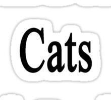 I Will Defend Cats No Matter What Sticker