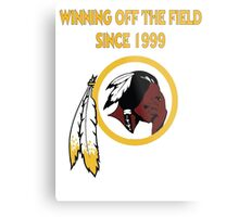 Redskins Winning Off The Field Success! Metal Print