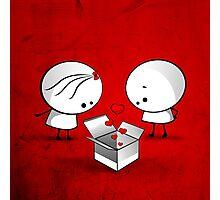The valentine gift Photographic Print