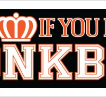 Honk If You Love Honkbal Sticker