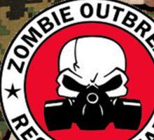 Texas Zombie Response Team Sticker