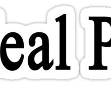 I Heal Pigs Sticker