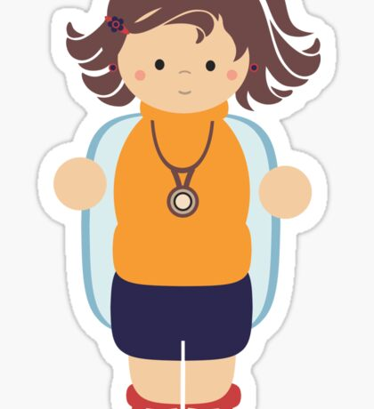 Marisol, Doctor Sticker