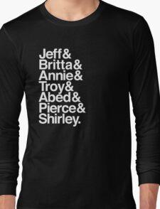 Community Lineup Long Sleeve T-Shirt