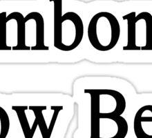 Trombonists Know Better Sticker
