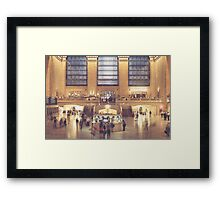 Weekend Commute Framed Print