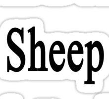 I Will Defend Sheep No Matter What Sticker