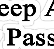 Sheep Are My Passion Sticker