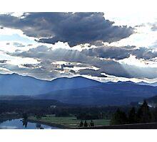 Evening Sky, Cranbrook, British Columbia Photographic Print
