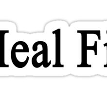 I Heal Fish Sticker
