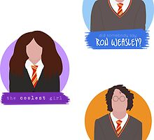 starkid potter set. by fadedrecords