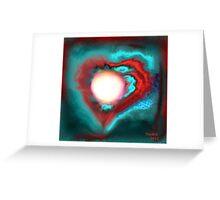 omniscient moon Greeting Card