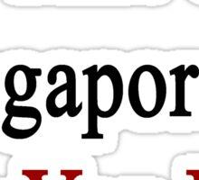 I'm That Cute Singaporean Guy You Like Sticker