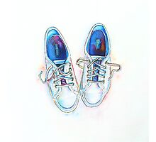 Shoe Love - Watercolor  Photographic Print