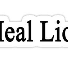 I Heal Lions Sticker