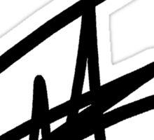 Noel Mendoza Signature Sticker Sticker