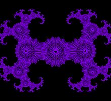 PurpleJulia1Spirograph by TonyaSanders