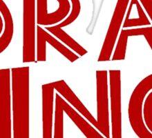 Drag King Sticker