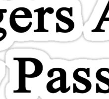 Tigers Are My Passion Sticker