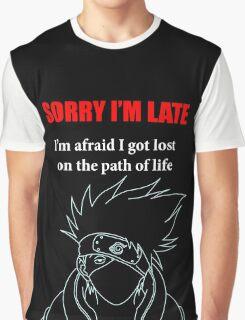 Kakashi Sensei Graphic T-Shirt