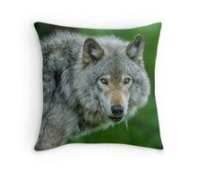 Just a glance Throw Pillow