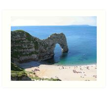 Durdle Door Cornwall UK Art Print