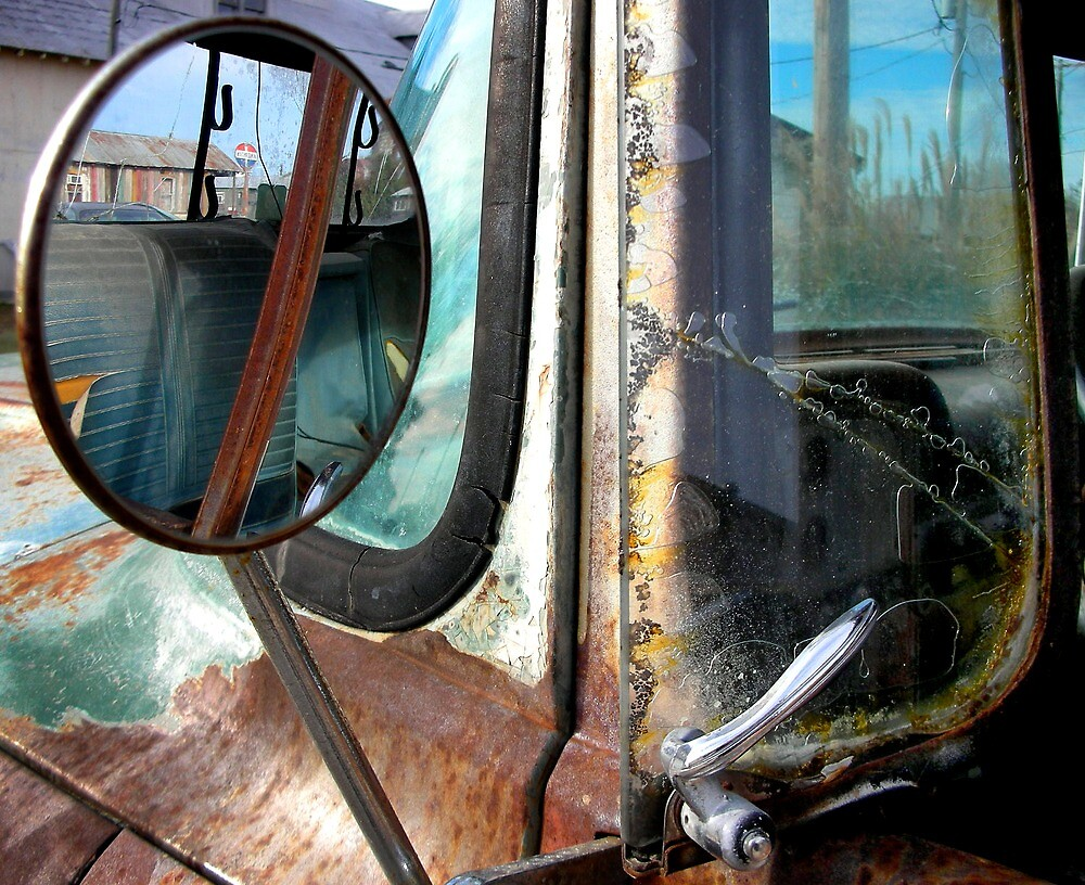 Rusty Truck Clarksdale Tennessee by GreyCard
