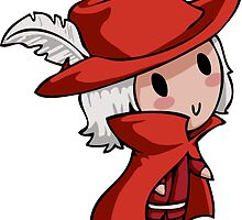 Final Fantasy Chibis - Red Mage! by TipsyKipsy