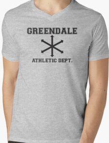 Community Athletic Dept. Mens V-Neck T-Shirt