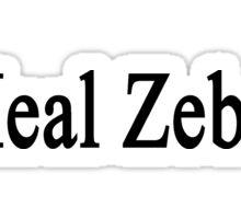 I Heal Zebras Sticker