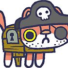 Scurvy Pete the pirate hackycat by hackycat