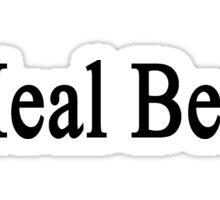 I Heal Bears  Sticker