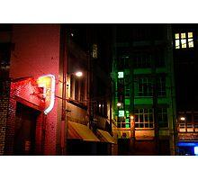 Neon Alley Photographic Print