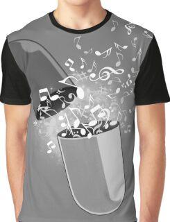 Music Pill Graphic T-Shirt