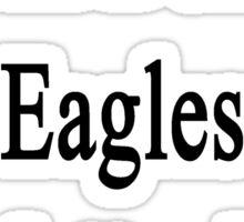 I Will Defend Eagles No Matter What Sticker