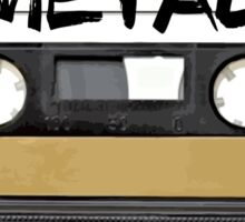 Heavy metal Music band logo - Cassette Tape Sticker